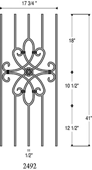 Balusters in St. Louis