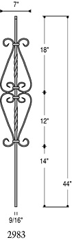 Buy Balusters in St. Charles