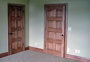Interior doors woodharbor hardwood doors st charles hardwoods interior doors solid wood interior doors planetlyrics Images