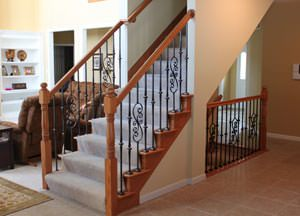 Stair Parts: Wood Handrails, Newels, Balusters