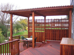 Wood Decking in St. Louis